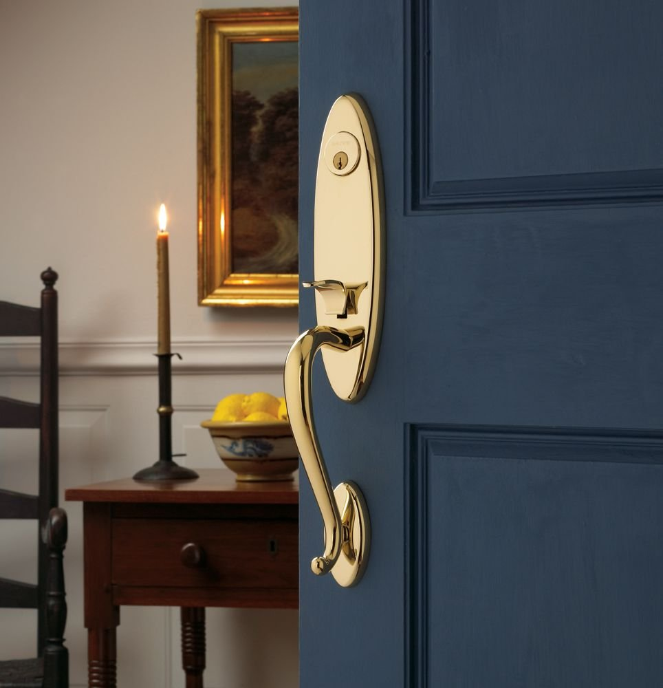 baldwin door knob installation photo - 11