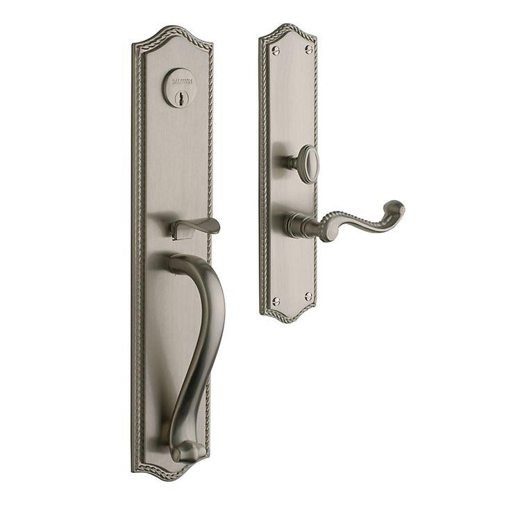 baldwin door knob installation photo - 9