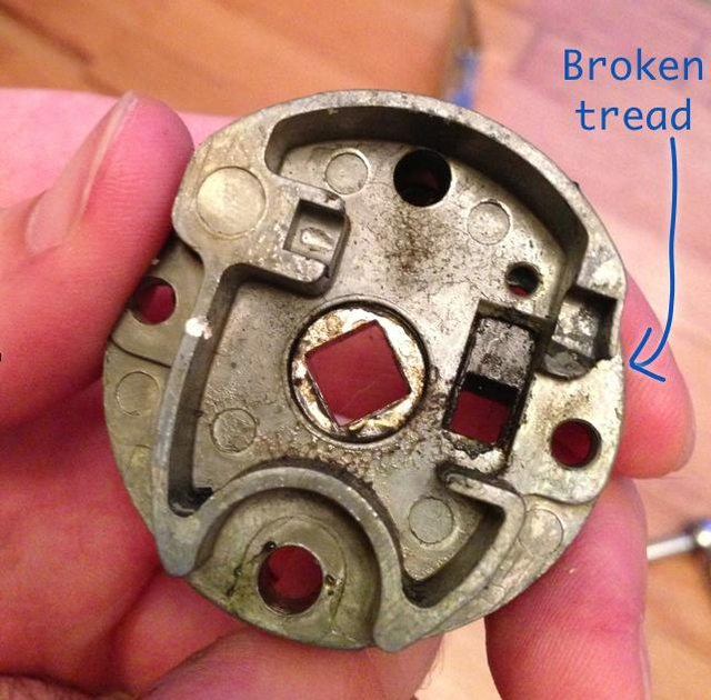 baldwin door knob parts photo - 11