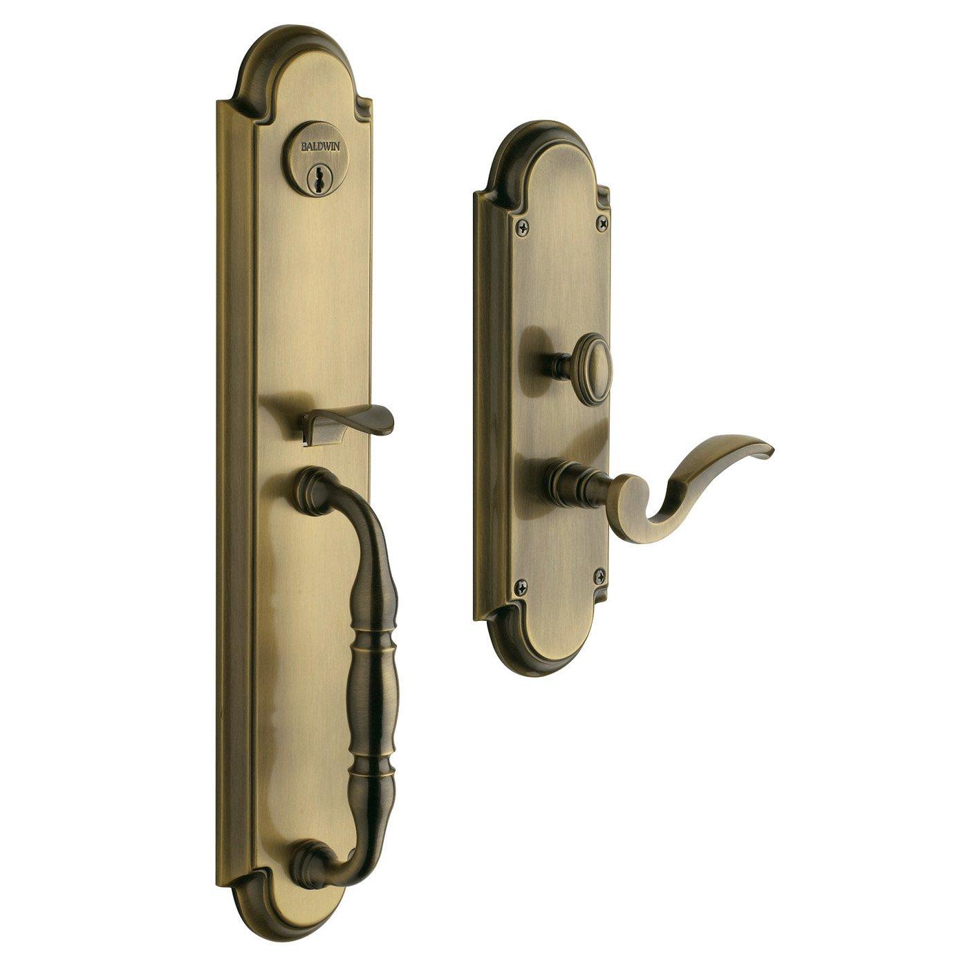 baldwin door knob parts photo - 2