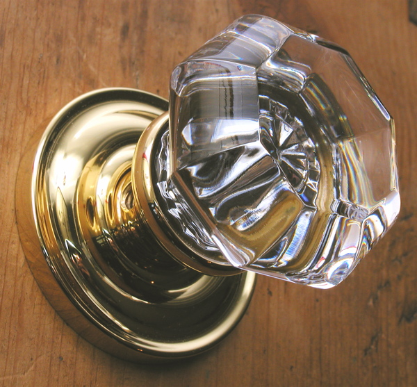 baldwin glass door knobs photo - 7