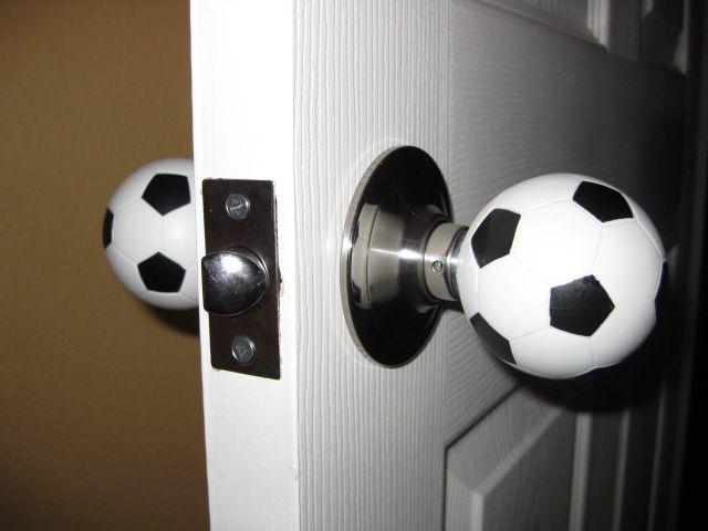 baseball door knob photo - 19