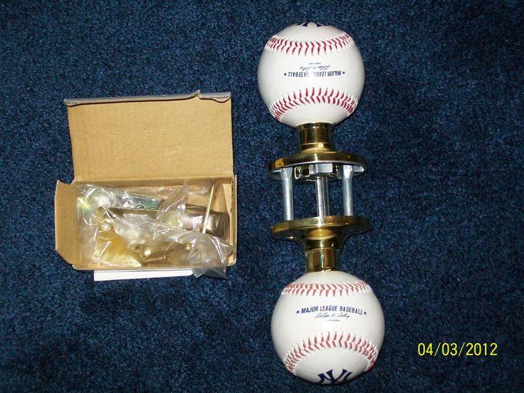 baseball door knob photo - 3