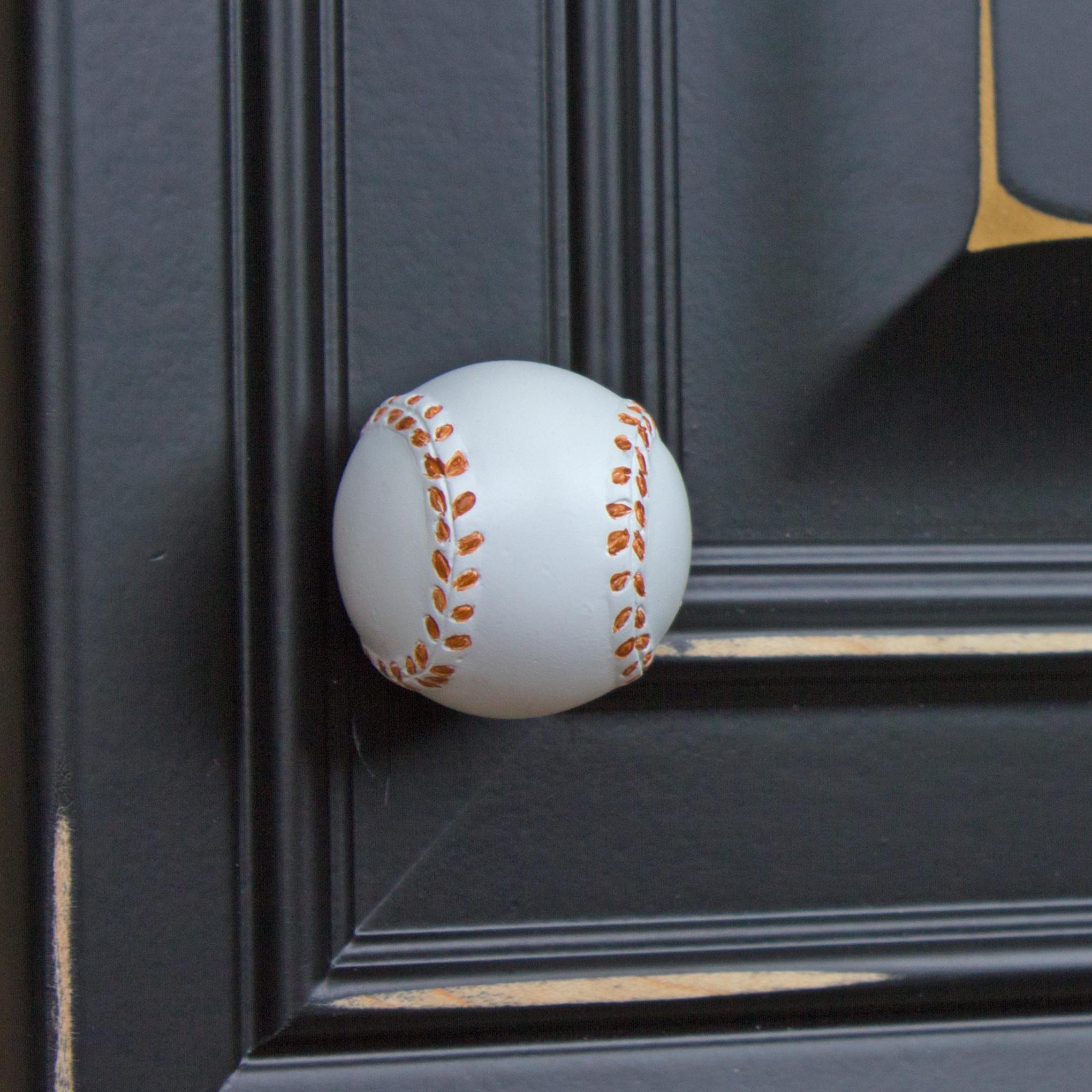 baseball door knobs photo - 11