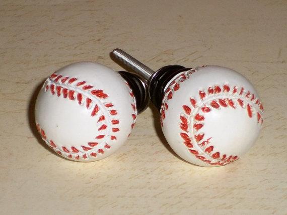 baseball door knobs photo - 12