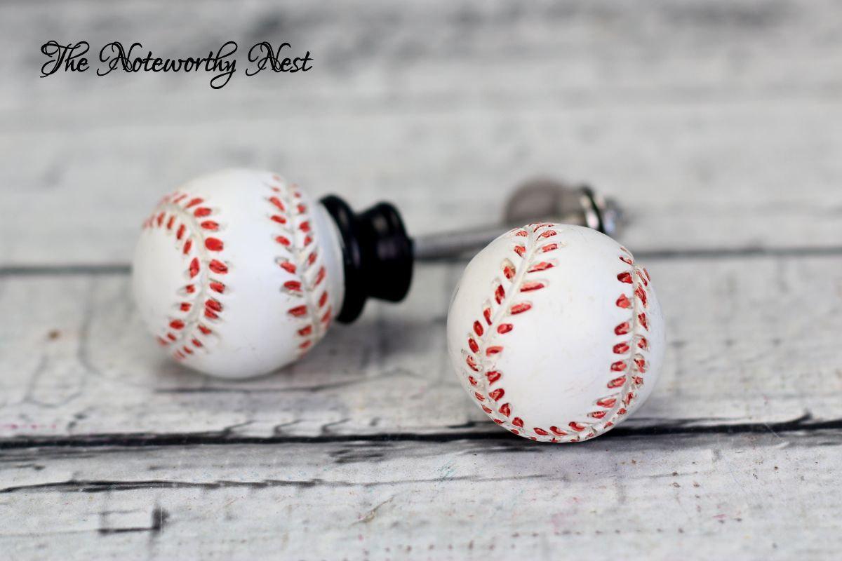 baseball door knobs photo - 4