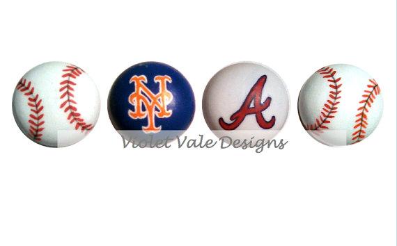 baseball door knobs photo - 5