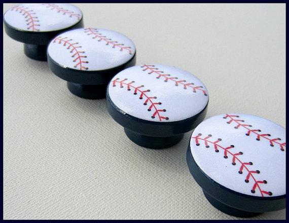 baseball door knobs photo - 6