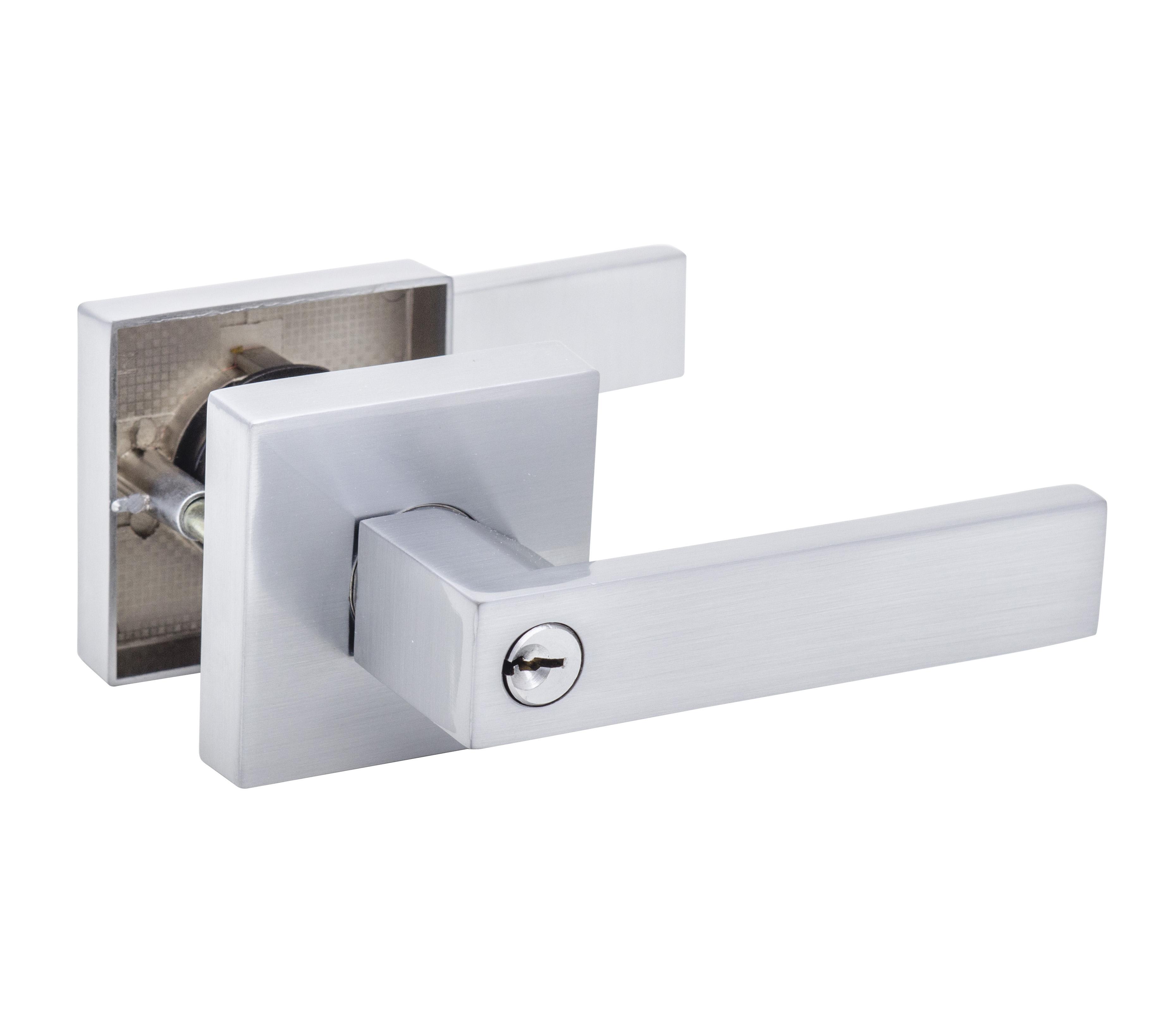 bathroom door knob with lock photo - 12
