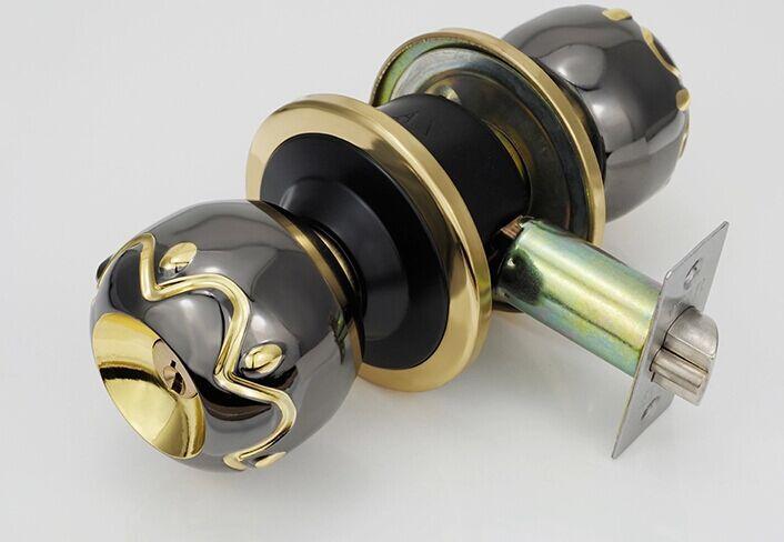 bathroom door knob with lock photo - 18