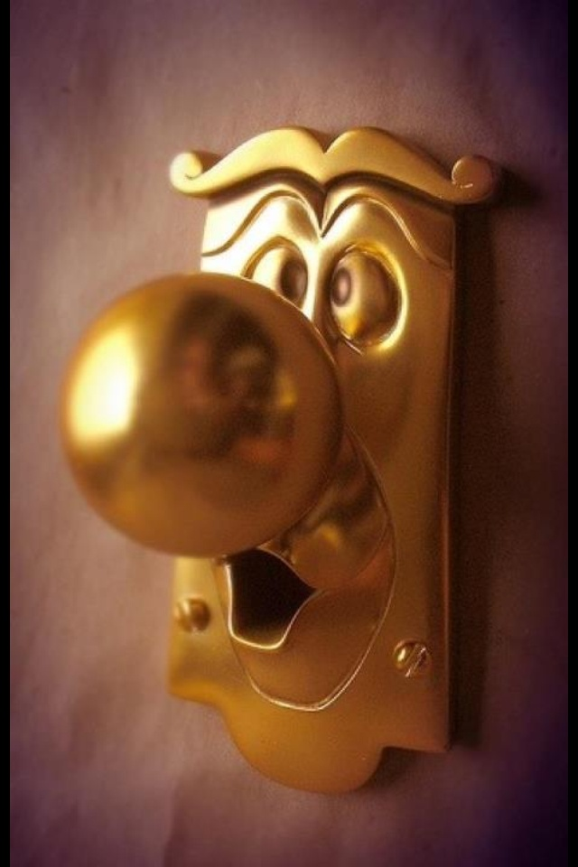 beauty and the beast door knob for sale photo - 2