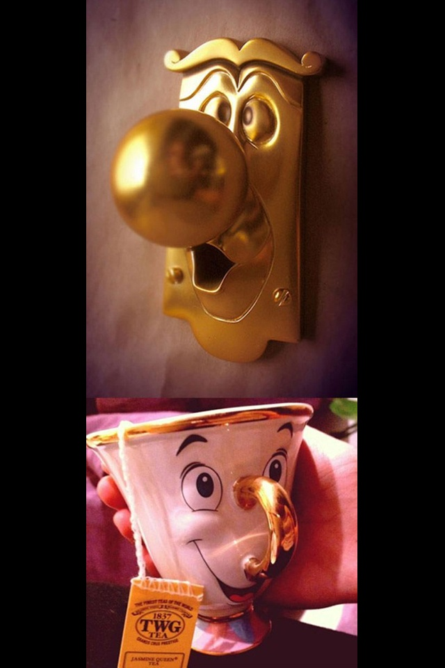 beauty and the beast door knob for sale photo - 7