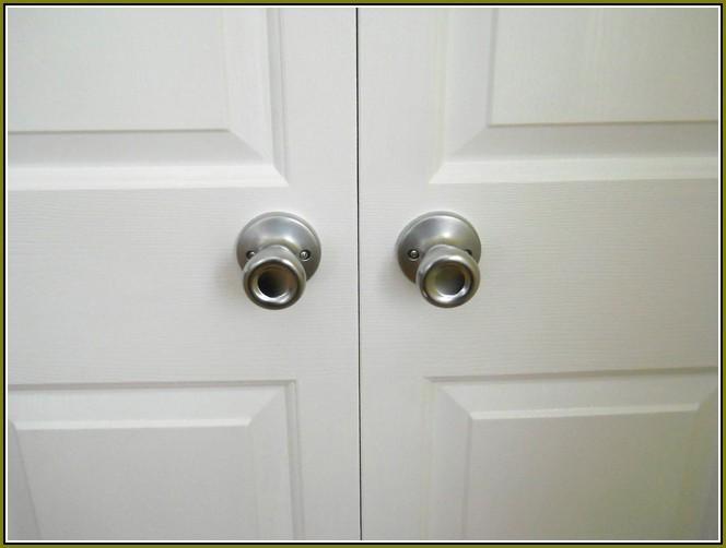 bifold door knob photo - 7