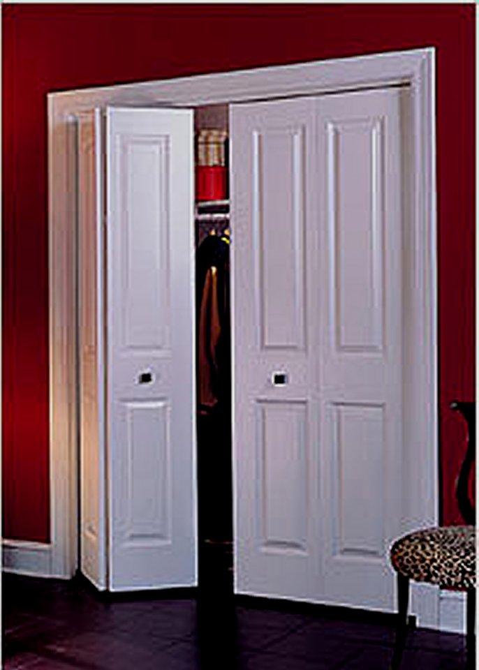 bifold door knob placement photo - 13