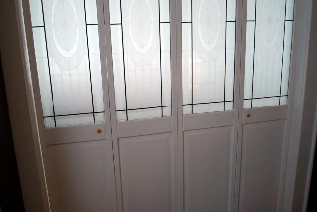 bifold door knob placement photo - 3