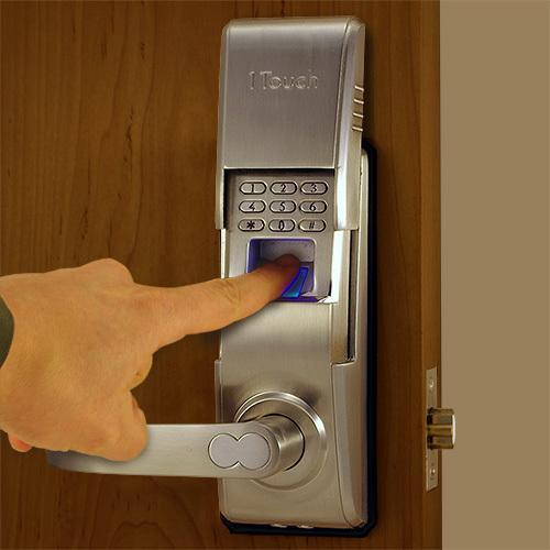 biometric door knob photo - 13