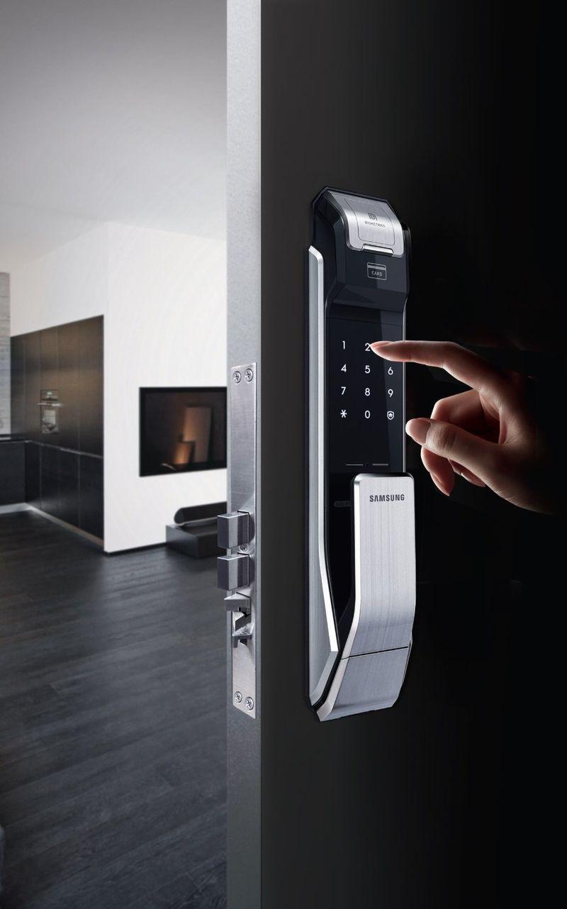 biometric door knob photo - 18