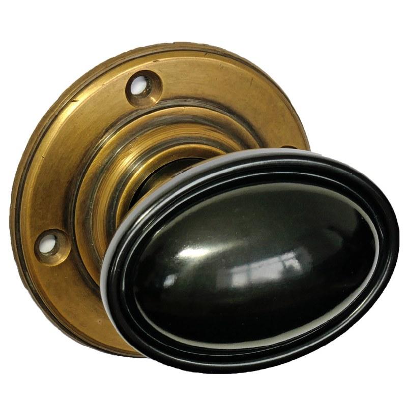 black antique door knobs photo - 19