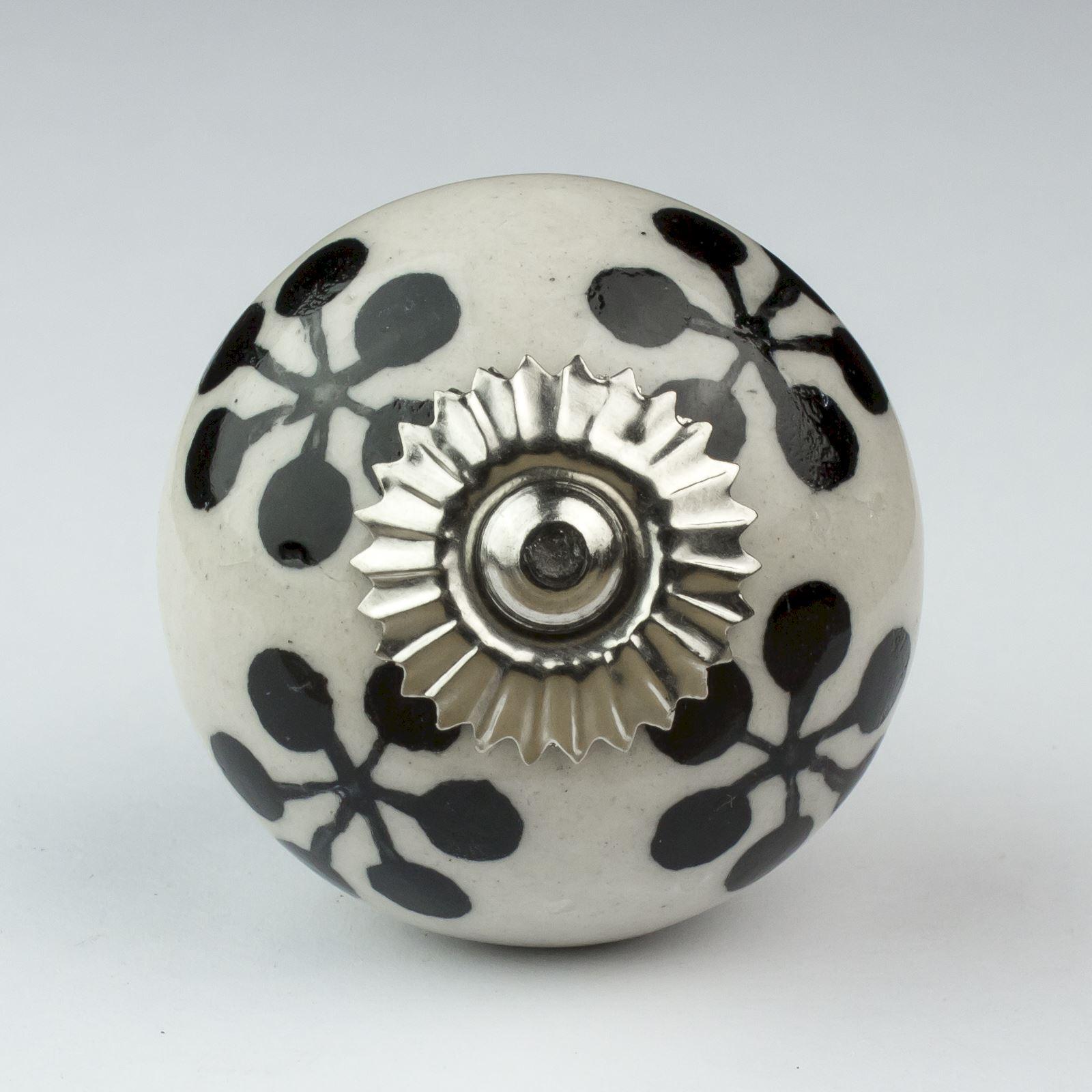 black ceramic door knobs photo - 18