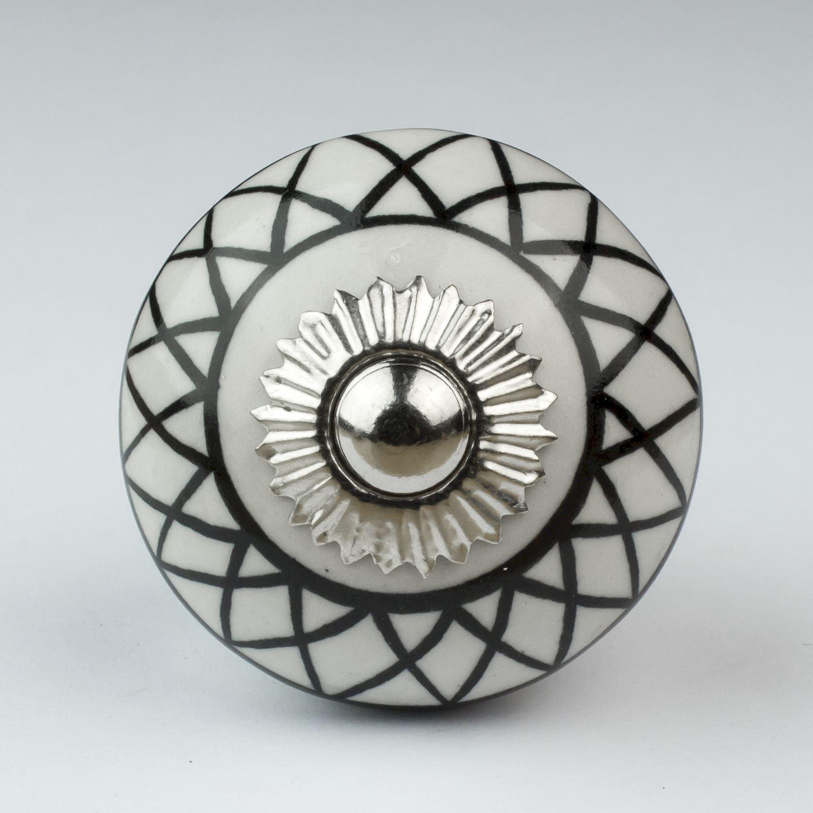 black ceramic door knobs photo - 6