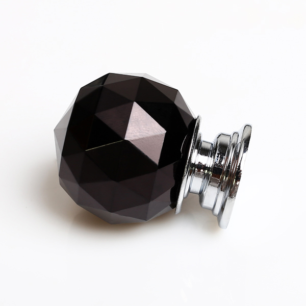 black crystal door knobs photo - 17