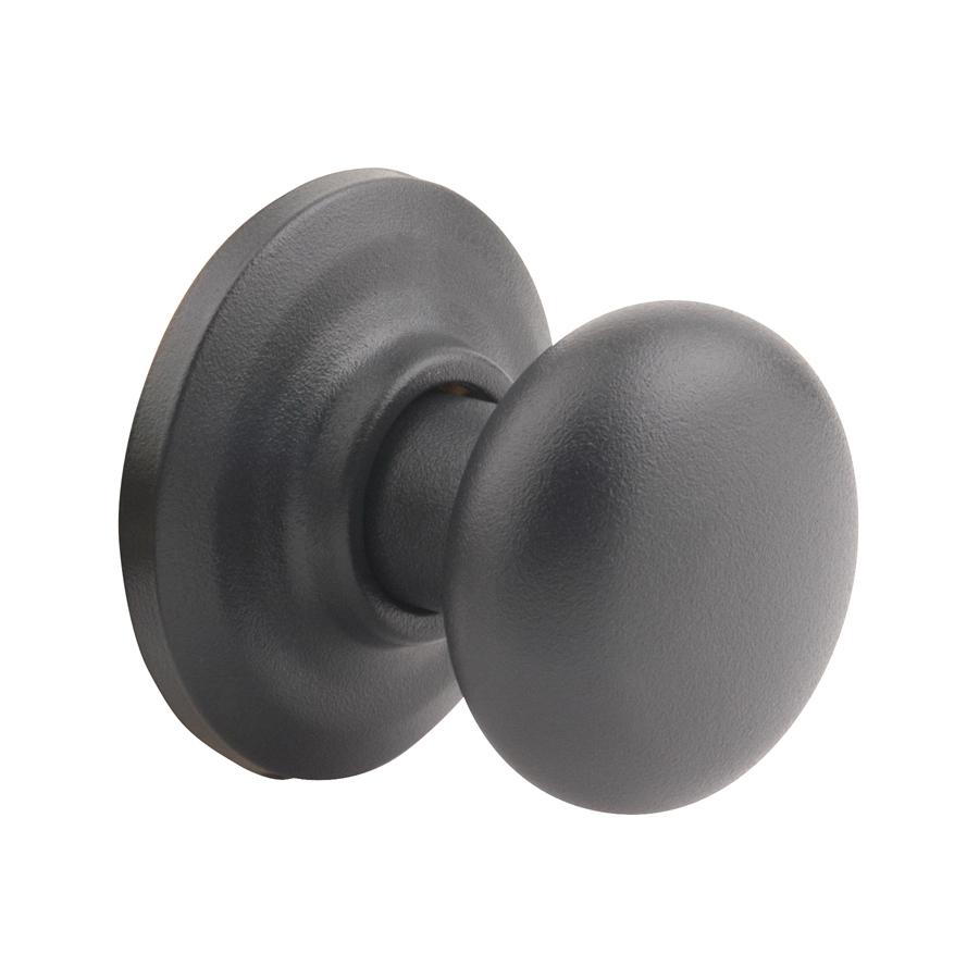 black door knob photo - 8