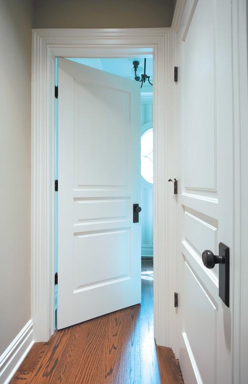 black door knobs photo - 20