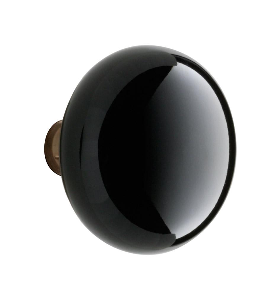 black door knobs photo - 5