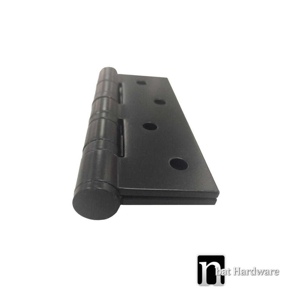black door knobs and hinges photo - 16