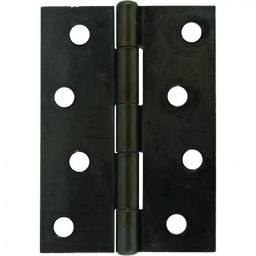 black door knobs and hinges photo - 4