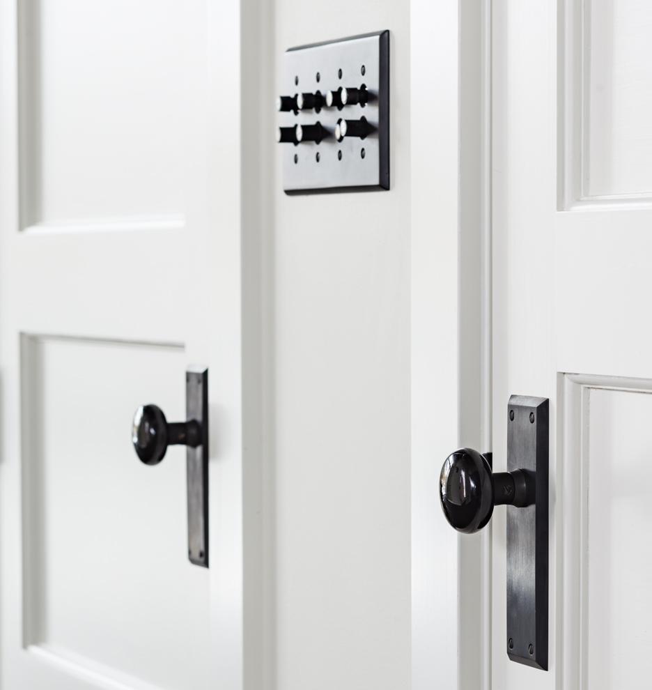 black interior door knobs photo - 4