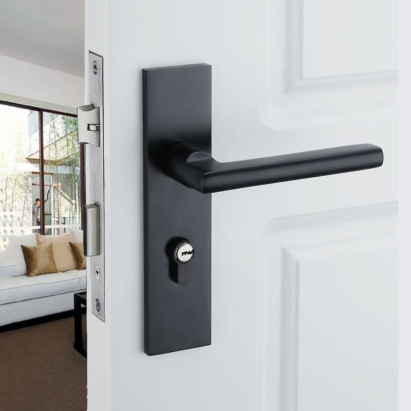 black interior door knobs photo - 6