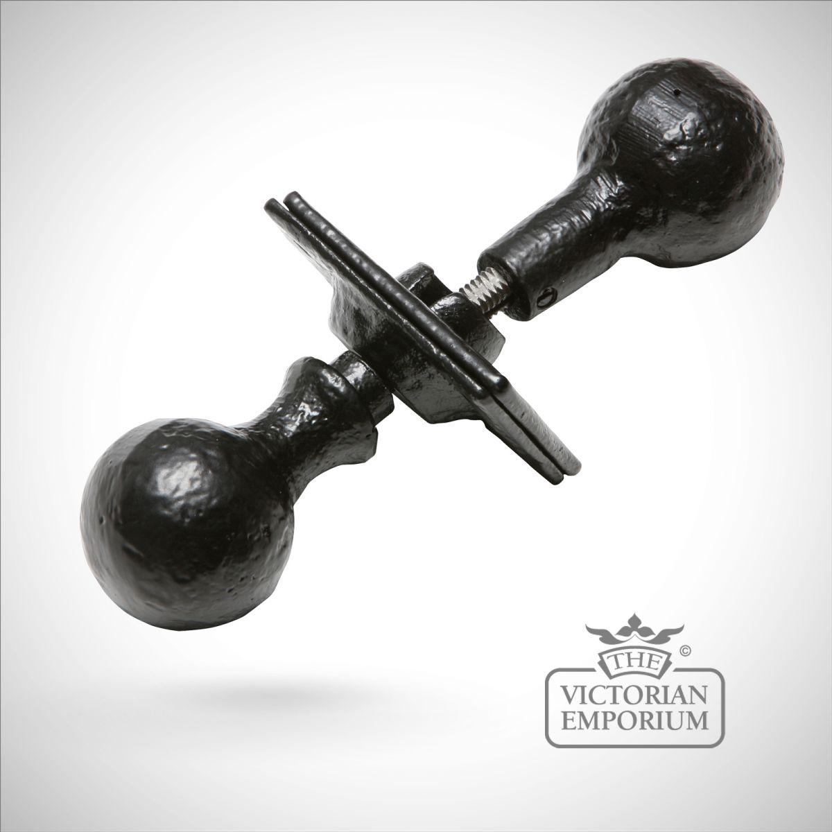 black iron door knobs photo - 4