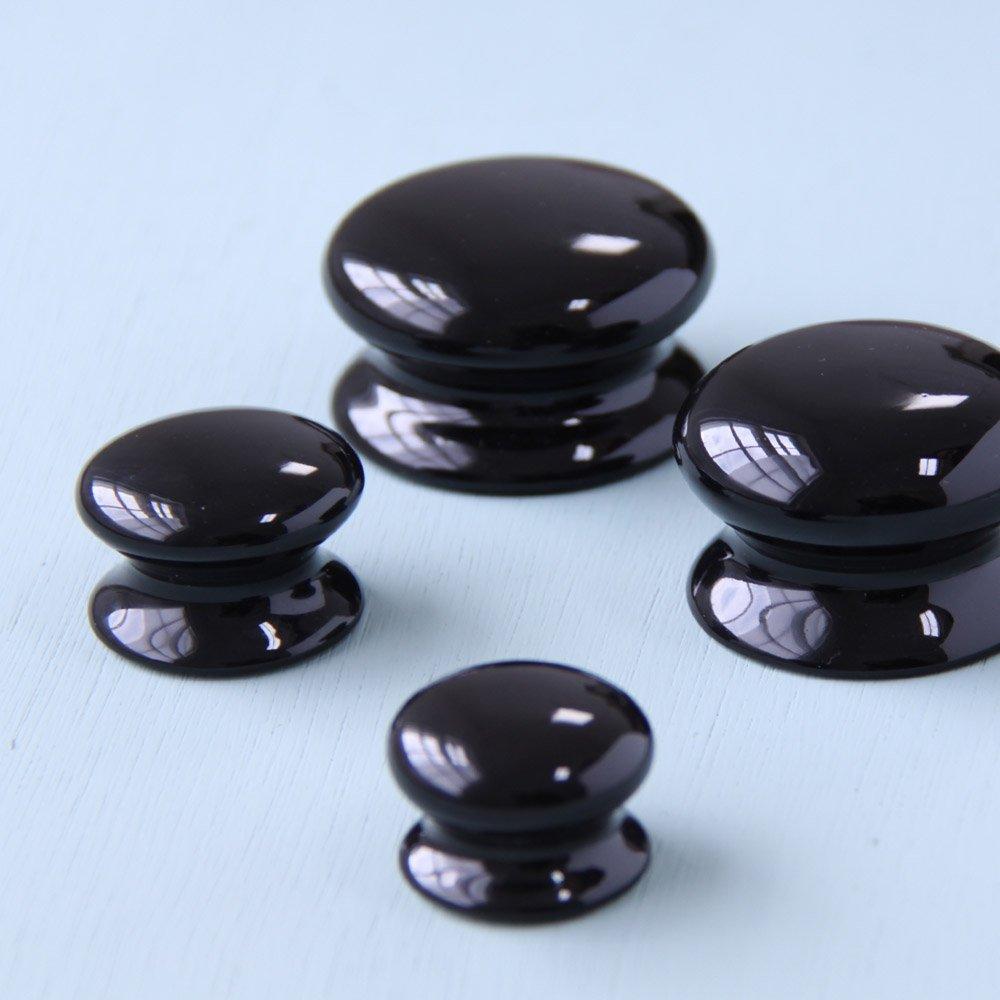black kitchen door knobs photo - 16