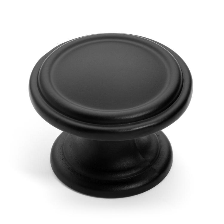 black kitchen door knobs photo - 5