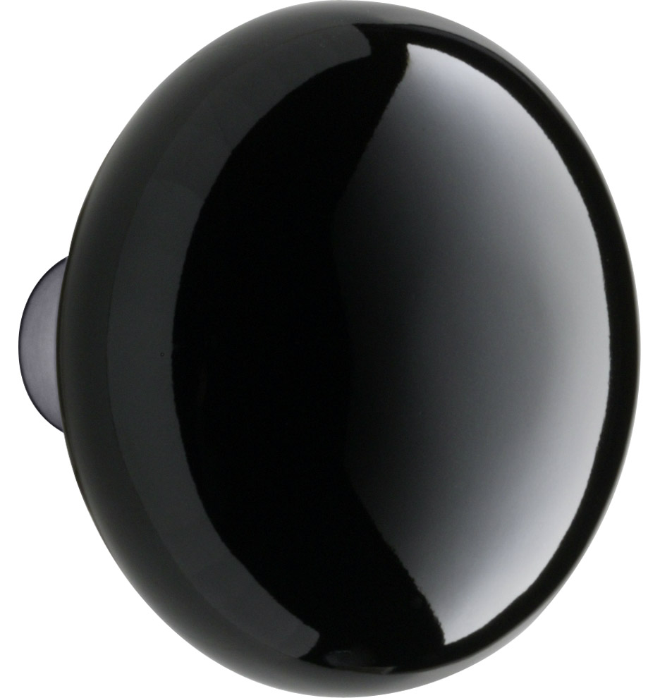 black porcelain door knobs photo - 5