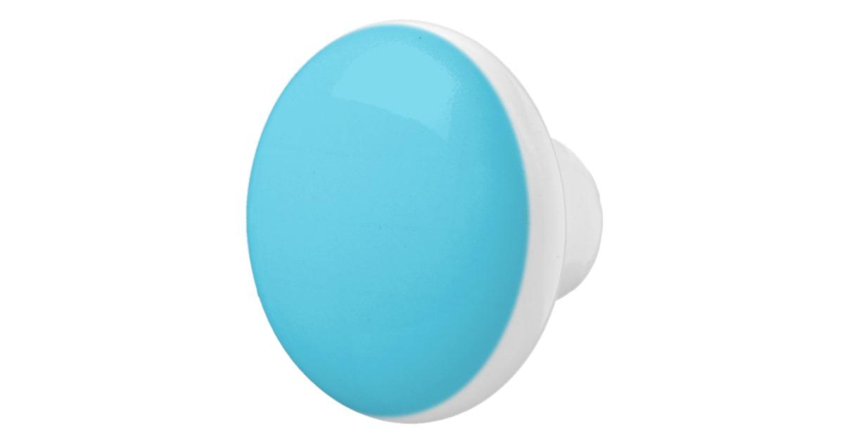 blue door knob photo - 12