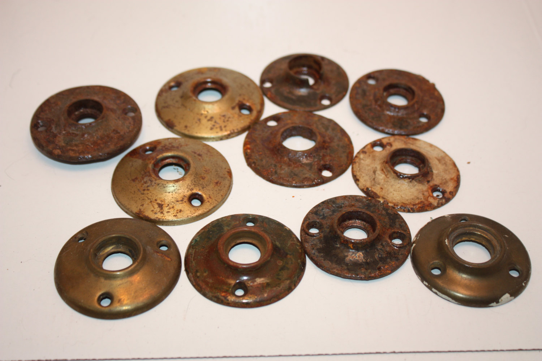 brass door knob plate photo - 20