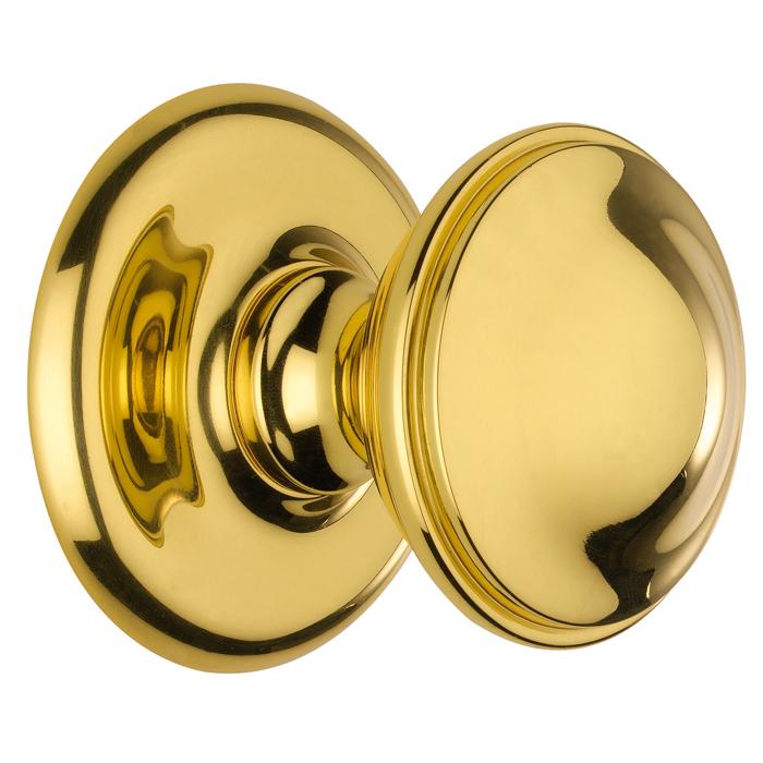 brass front door knob photo - 12