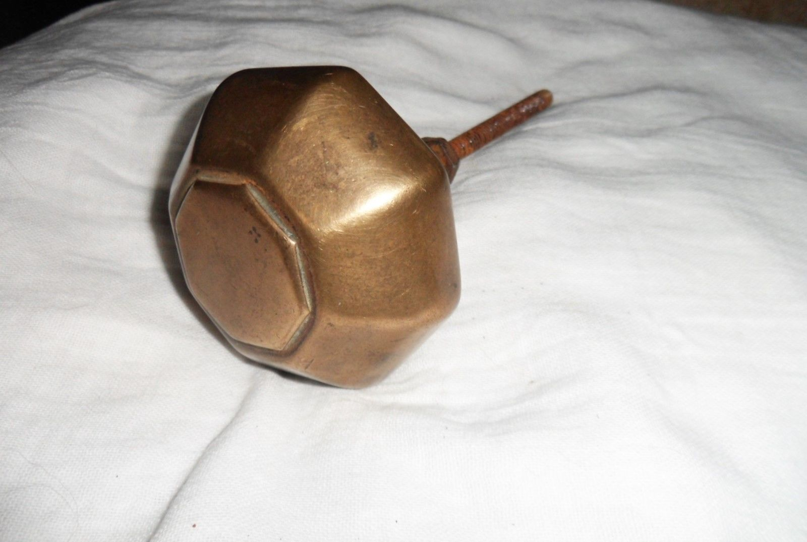 brass front door knob photo - 17