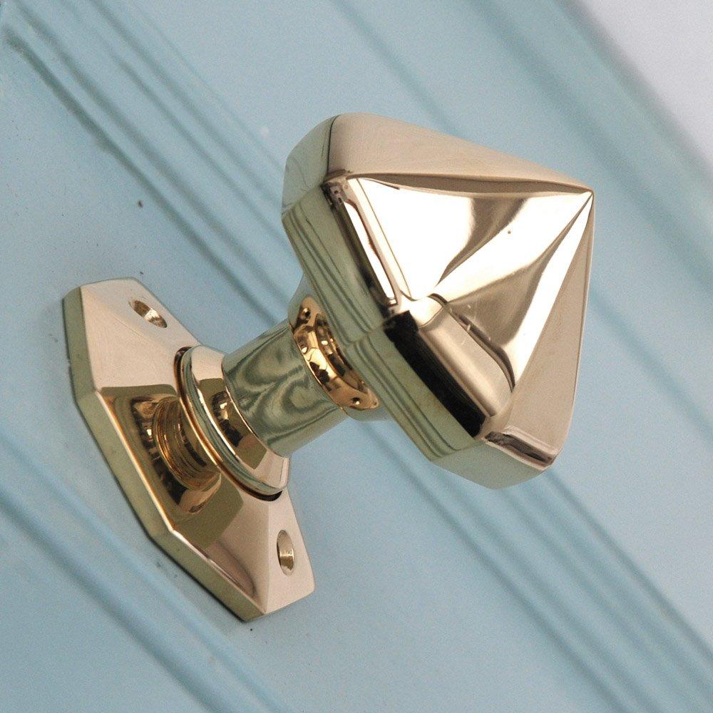 brass front door knob photo - 3