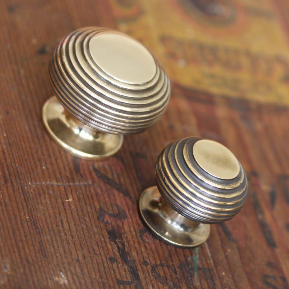 brass kitchen door knobs photo - 4