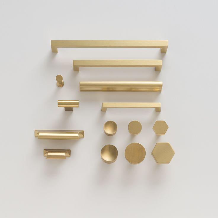 brass kitchen door knobs photo - 8