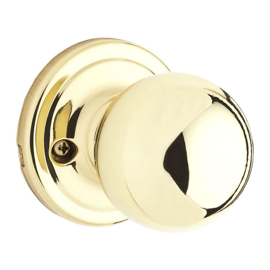 brushed brass door knobs photo - 16