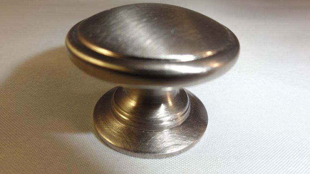 brushed nickel cabinet door knobs photo - 11