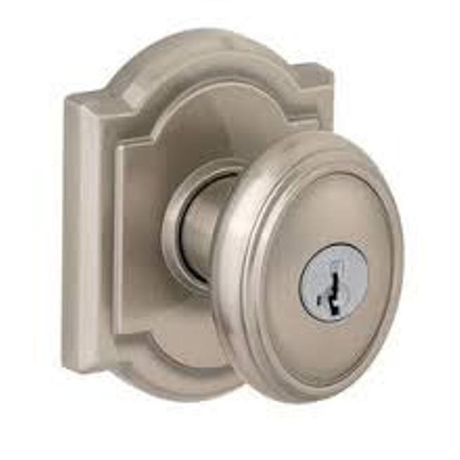 brushed nickel door knobs photo - 12