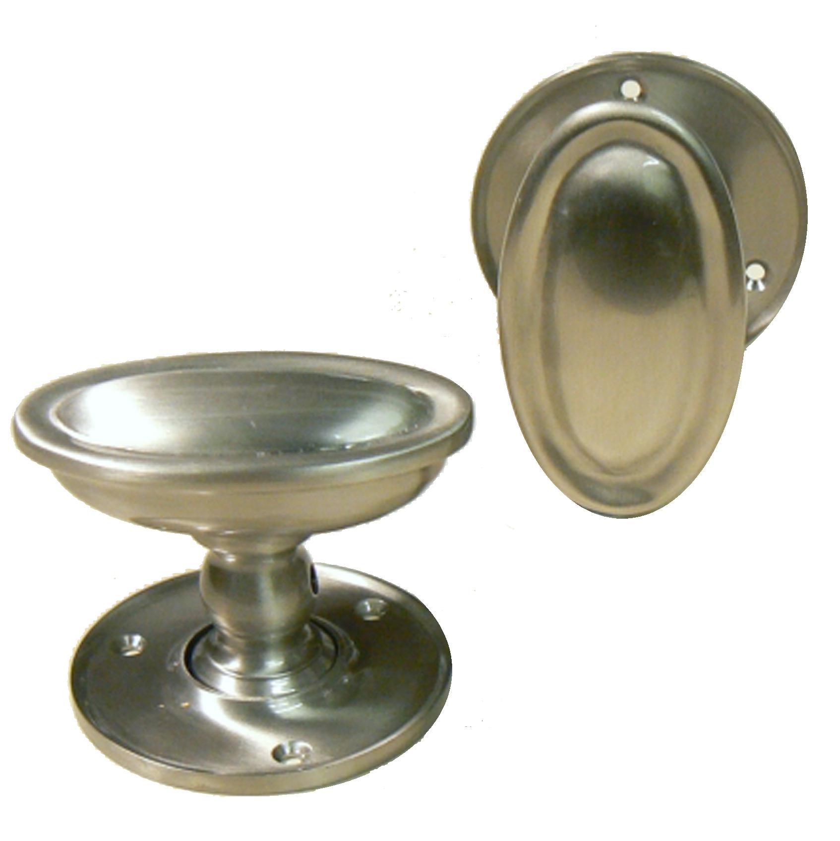 brushed nickel door knobs photo - 13