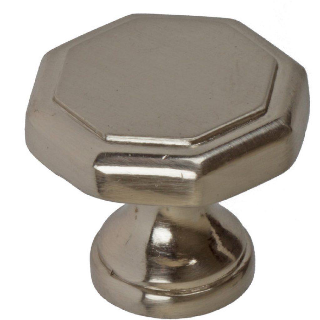 brushed nickel door knobs photo - 16