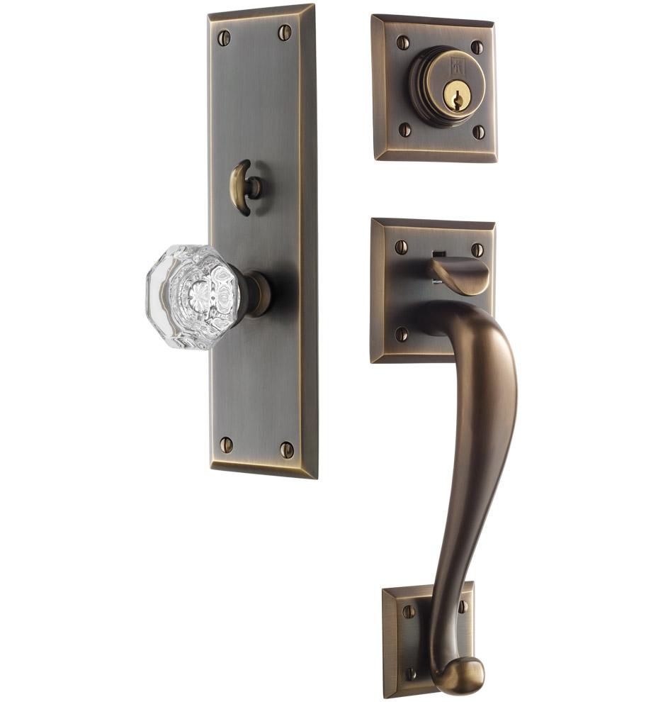 brushed nickel interior door knobs photo - 15