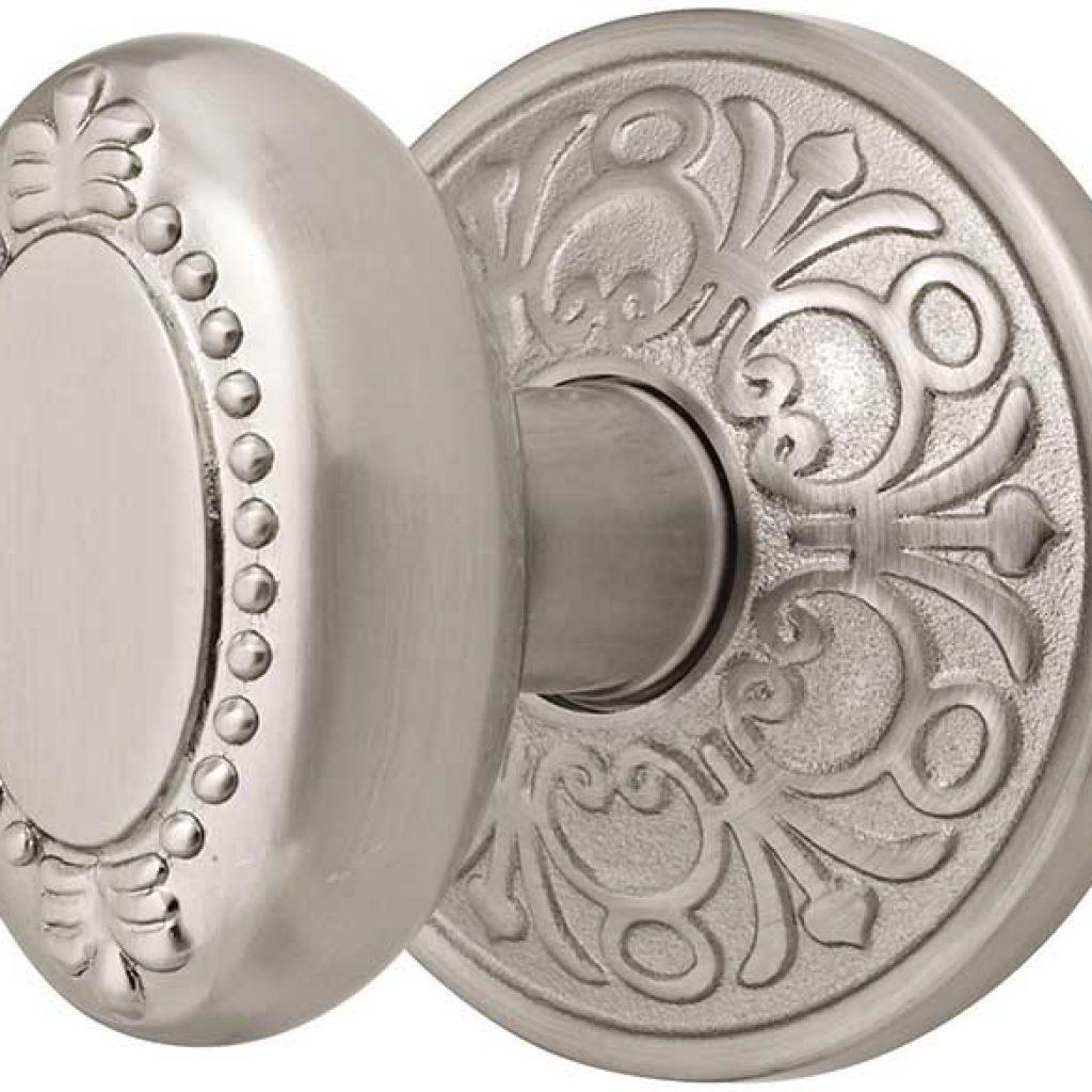 brushed nickel interior door knobs photo - 6
